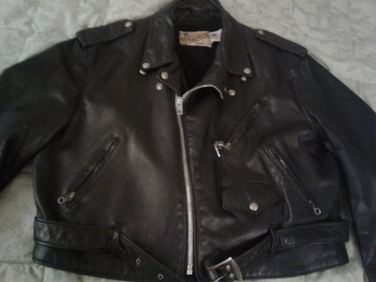 Front of MC jacket