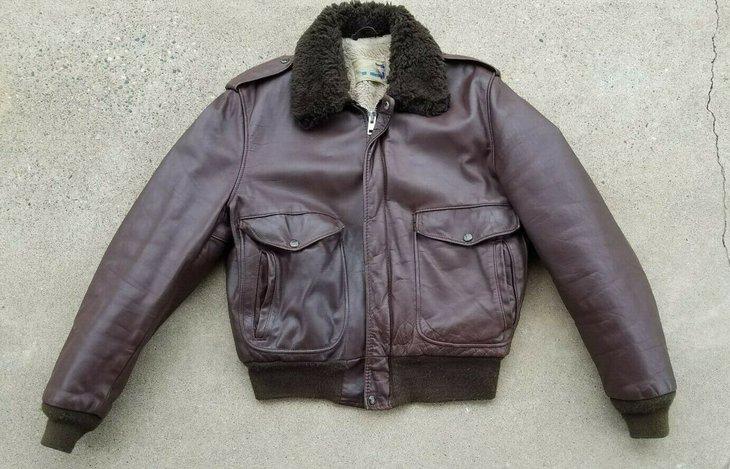 674 Brown Sherpa Flight Jacket