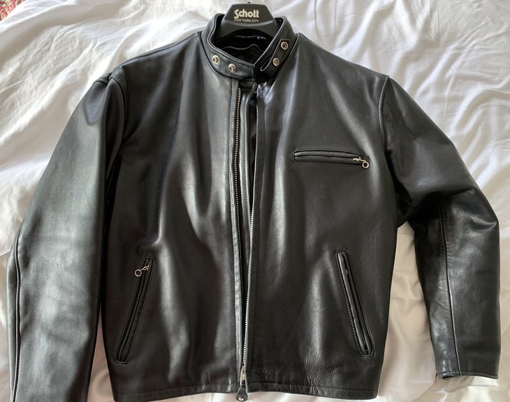 Black 141 jacket, size 46