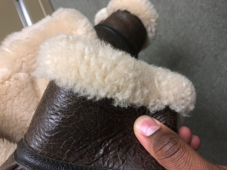 Right Cuff (Matted Fur)