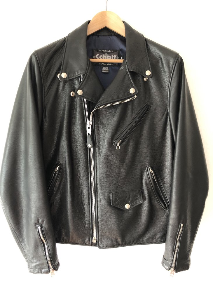 Schott x Urban Outfitters leather jacket