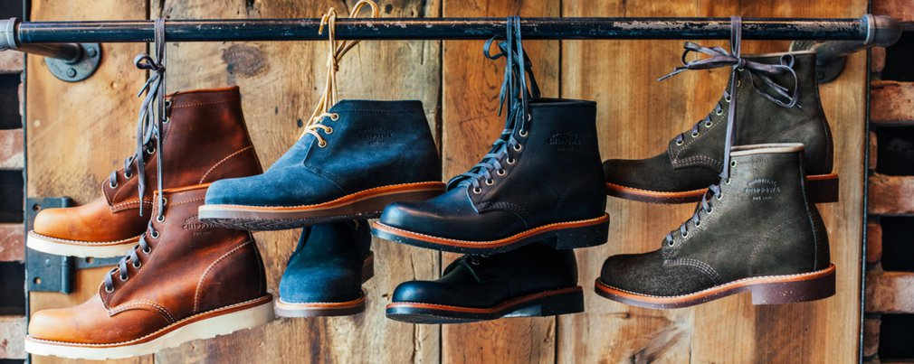 866ef31a05 Men's Red Wing and Chippewa Boots at Schott NYC