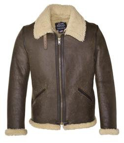 a76a9084b WWII Leather Bomber Jacket - Schott NYC