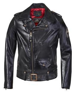 525SJ - Sailor Jerry x Schott NYC Motorcycle Jacket