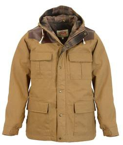 "91386 - 29"" Wax Coated Cotton Appalachia Parka (Khaki)"