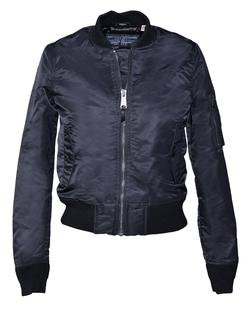 Black Women's Flight Jacket
