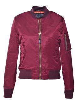 Bordeaux Women's Flight Jacket