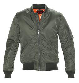 9628 - Men's Nylon Flight Jacket