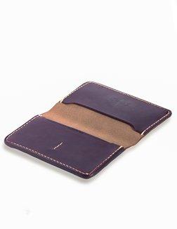 Style #C300 Cordovan Wallet Open