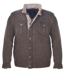 "F1412 - 27"" Military Sweater Jacket (Olive)"