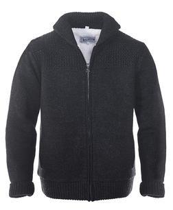 F1522 - Shawl Collar Sweater Jacket