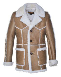 P265 - Men's Shearling Coat