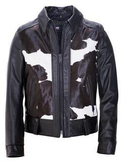 "P6422 - ""El Camino"" 50's West Coast Leather Biker Jacket"