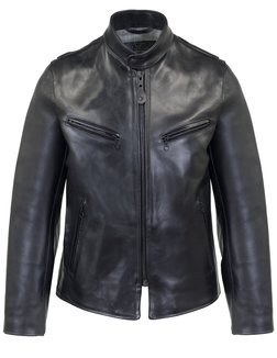 P665H - Limited Edition Men's Genuine Horsehide Racer Jacket
