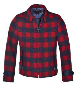 P731 - Men's Plaid Wool Jacket
