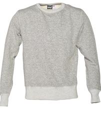 PF01 - Men's Crew Neck Sweatshirt (Heather Grey)