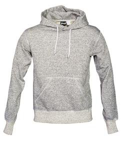 PF02 - Men's Hooded Sweatshirt (Heather Grey)