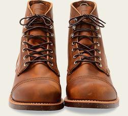 "R8085 - Red Wing Men's 6"" Iron Ranger Boot"