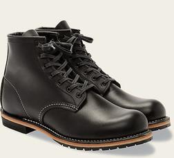 "R9014 - Red Wing Men's Beckman Round 6"" Boot (Black)"