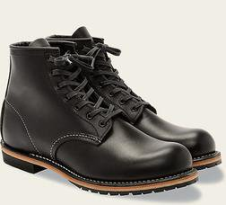 "R9014 - Red Wing Men's Beckman Round 6"" Boot (Black)"