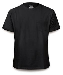 TEE1 - Pocket Tee (Black)
