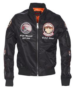 9723 - MA-1 Commemorative Flight Jacket (Black)