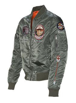 9723 - MA-1 Commemorative Flight Jacket (Sage)