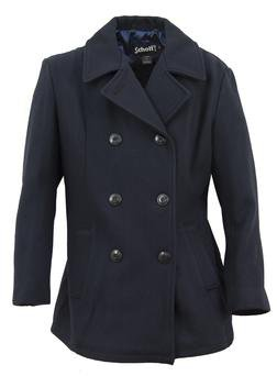 Women's Pea Coats - Schott NYC