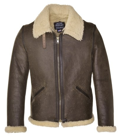 2B6C - Men's Shearling Leather Jacket