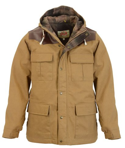 "91386 - 29"" Wax Coated Cotton Appalachia Parka"