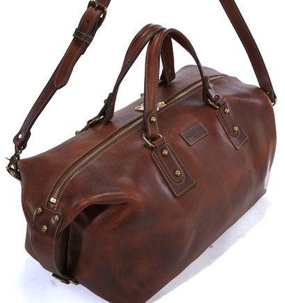 HD30 - Horween Leather Duffel Bag