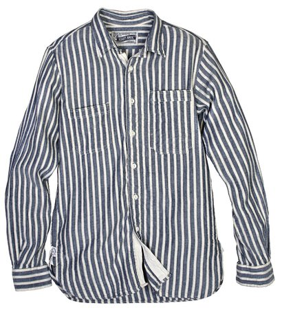 SH1324 - Vertical Dobby Stripe Fine Weave Cotton Shirt