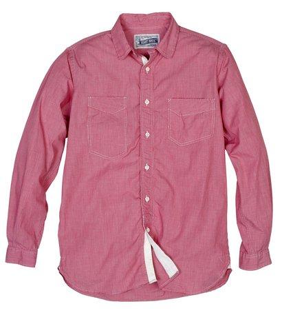 SH1327 - Fine Weave Ticking Stripe Cotton Shirt