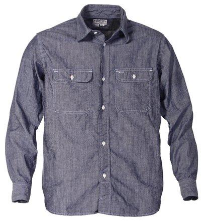 Cotton work shirt schott nyc for 100 cotton work shirts