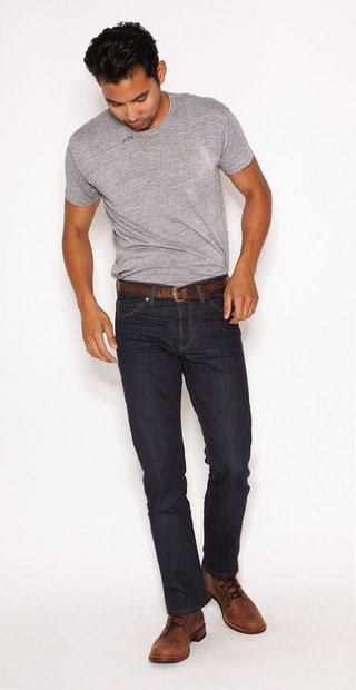 BART32 - Barton Rigid - Slim Straight Selvedge Denim